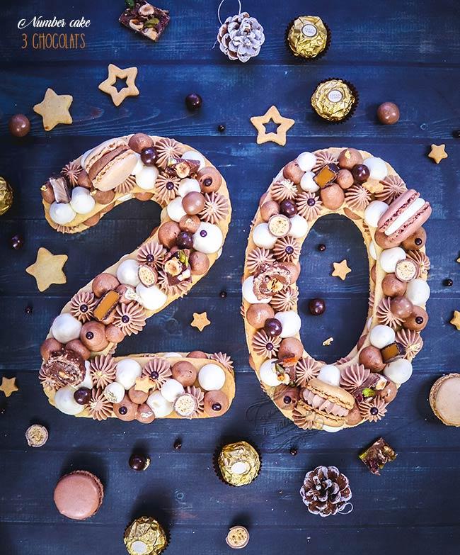 gateau nouvel an réveillon 2020