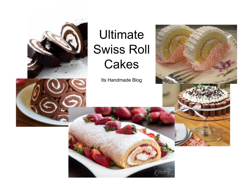 Swiss Roll Cake Recipes and video tutorials for a variety of flavors