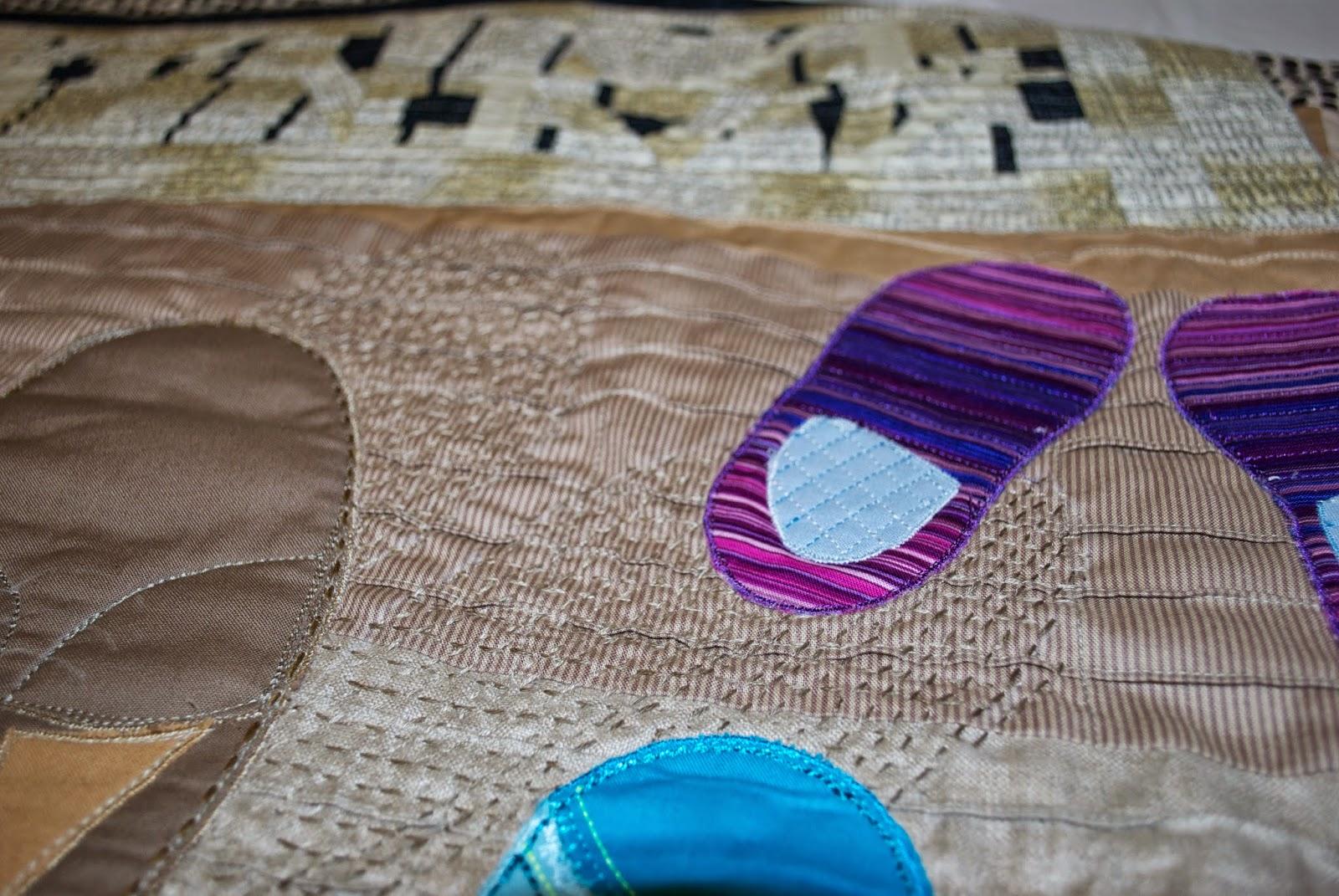 Schmutz auf der Fußmatte