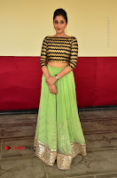 Actress Regina Candra Latest Pos in Green Long Skirt at Nakshatram Movie Teaser Launch  0090.JPG