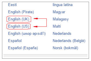 How To Change Language Back To English On Facebook