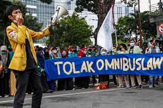 Tolak Omnibus Law, BEM SI Akan Kembali Turun ke Jalan pada 20 Oktober