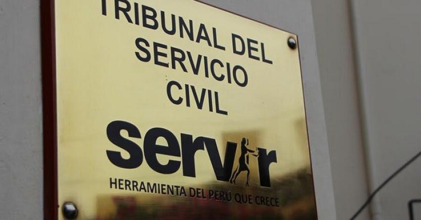 SERVIR: Tribunal del Servicio Civil declara infundada apelación de Edgar Alarcón