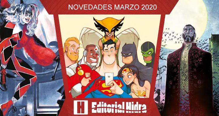Editorial Hidra: Novedades Marzo de 2020