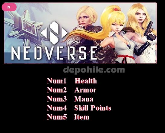 Neoverse PC Oyunu Can, İtem, +5 Trainer Hilesi İndir 2020