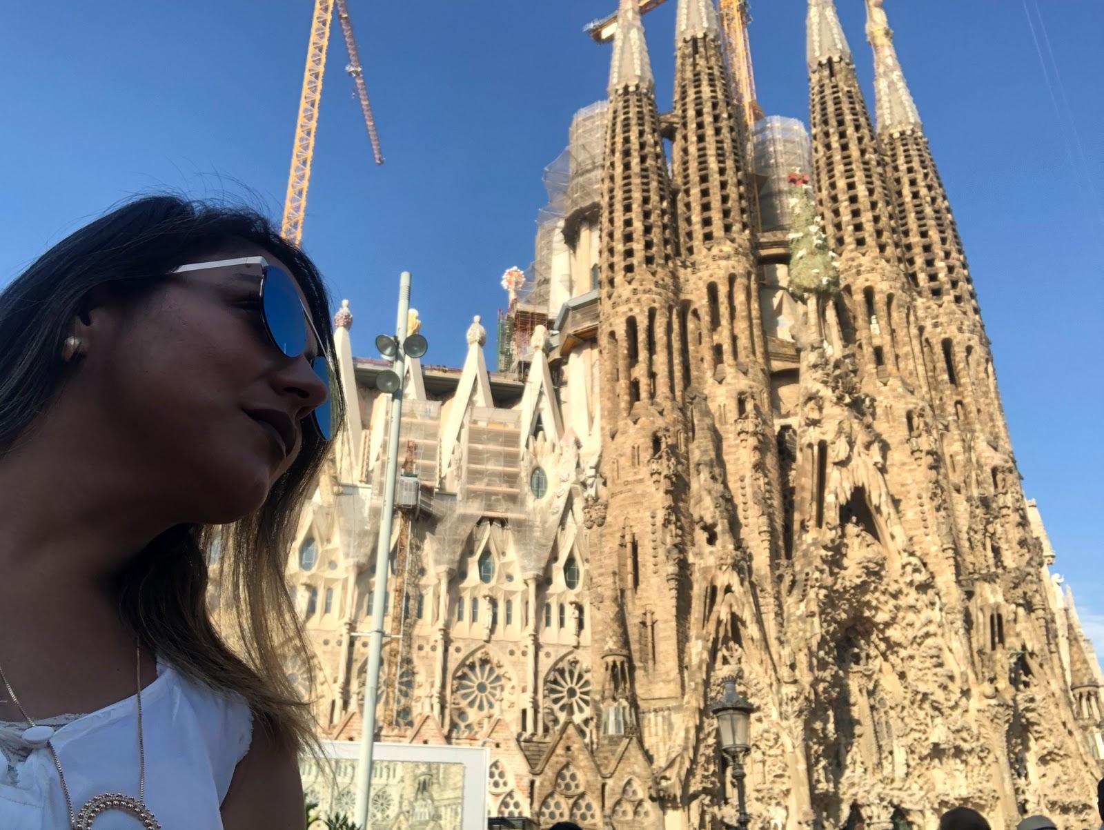Basílica Sagrada Família e Park Guell em Barcelona