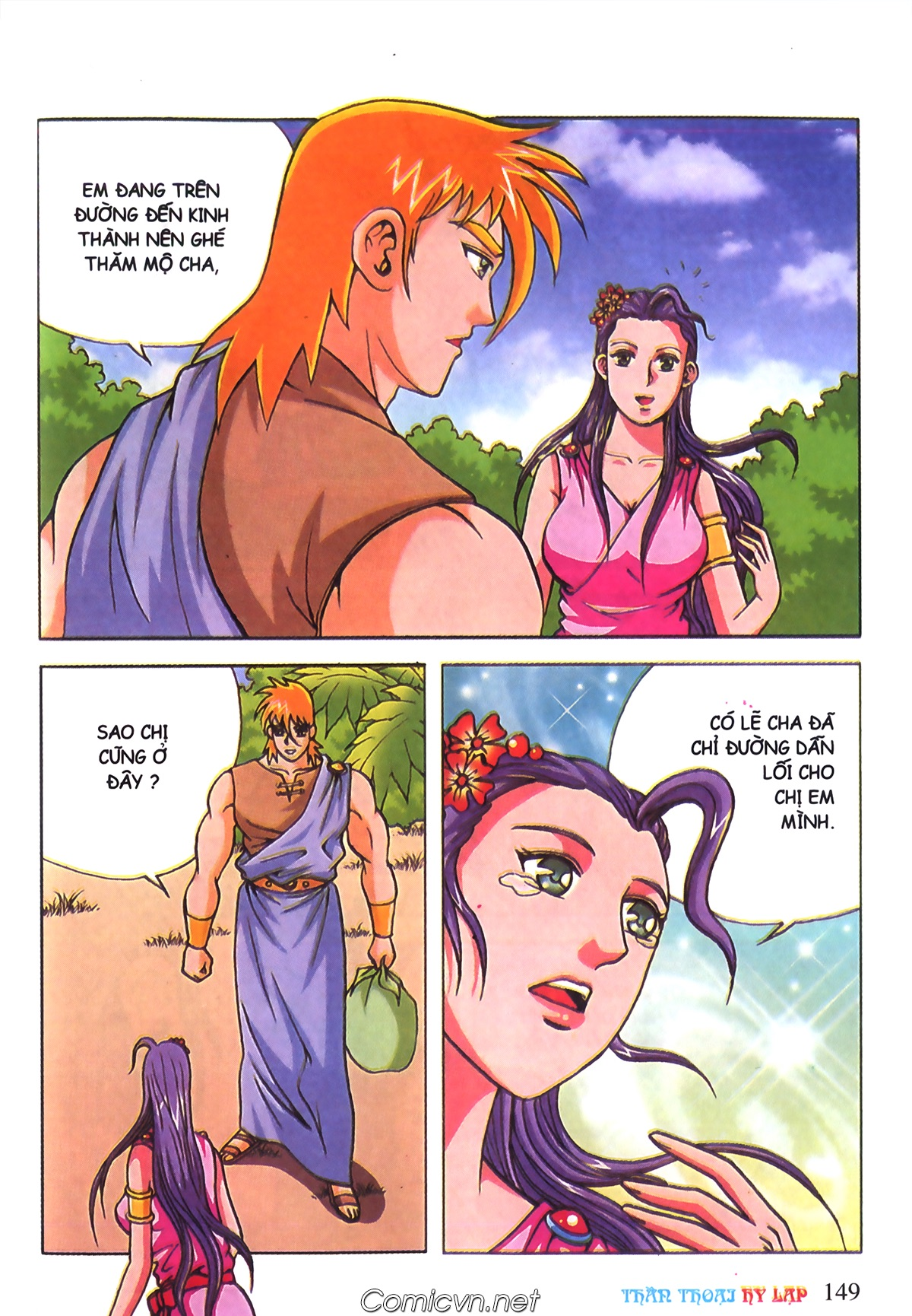 Thần Thoại Hy Lạp Màu - Chapter 70: Nàng Ê lếch tơ - Pic 42