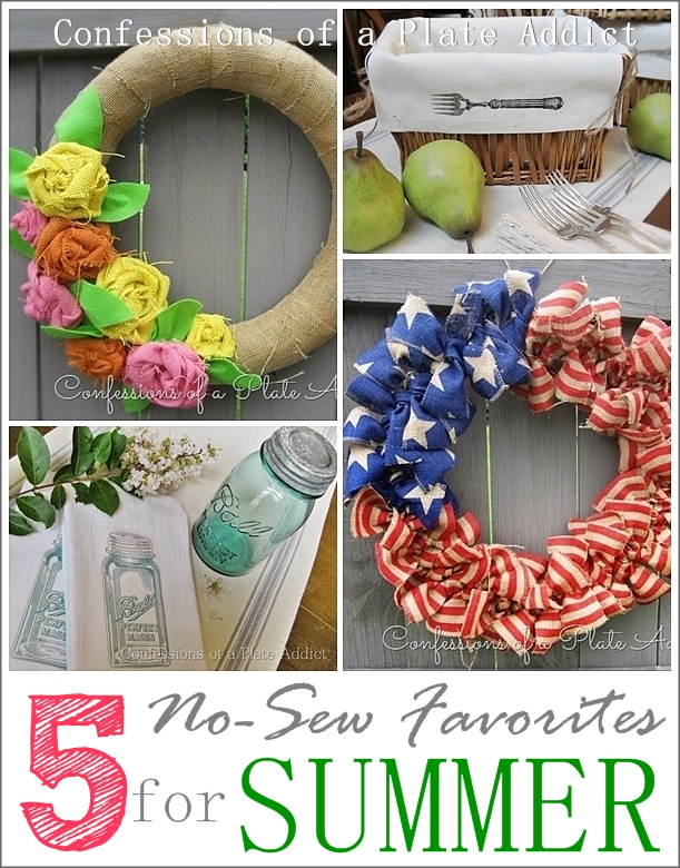 Five Favorite No Sew Projects For Summer
