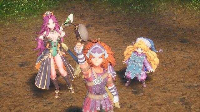 Trials of Mana (Switch) recebe novas informações e imagens dos personagens