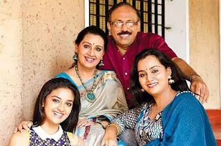 Keerthy Suresh Family