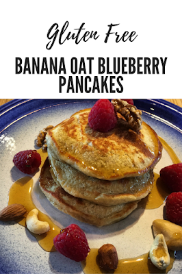 ... From A Shropshire B&B: Gluten Free Banana Oat Blueberry Pancakes