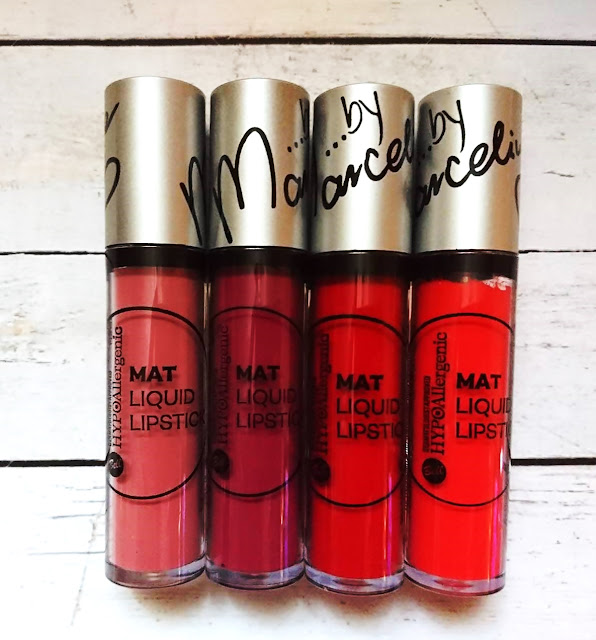 HYPOALLERGENIC MAT LIP LIQUID BY MARCELINA