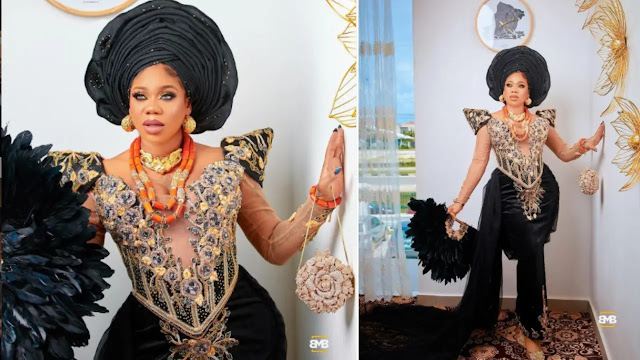 'If not for my wedding, I wouldn't have announced my pregnancy' – Toyin Lawani reveals