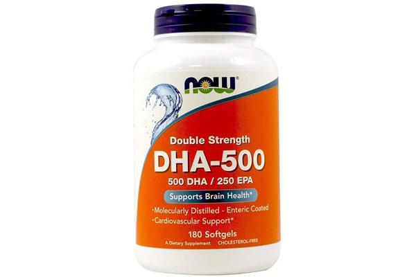 Viên thuốc bổ sung dha Now DHA-500