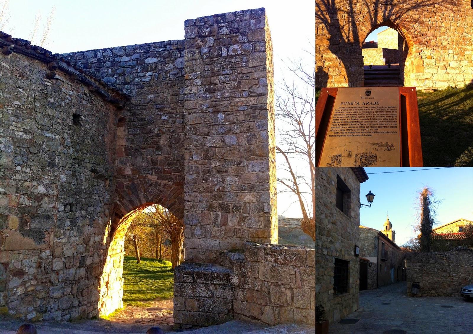 muralla árabe de Medinaceli