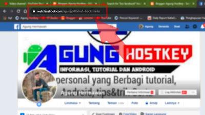 cara melihat url facebook sendiri, cara mengetahui link facebook sendiri