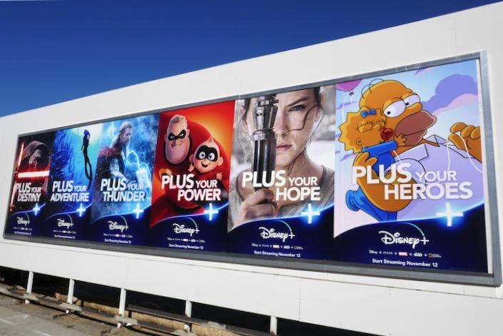 Disney Plus street posters