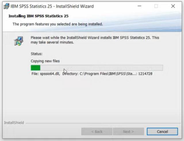 proses instalasi ibm spss terbaru