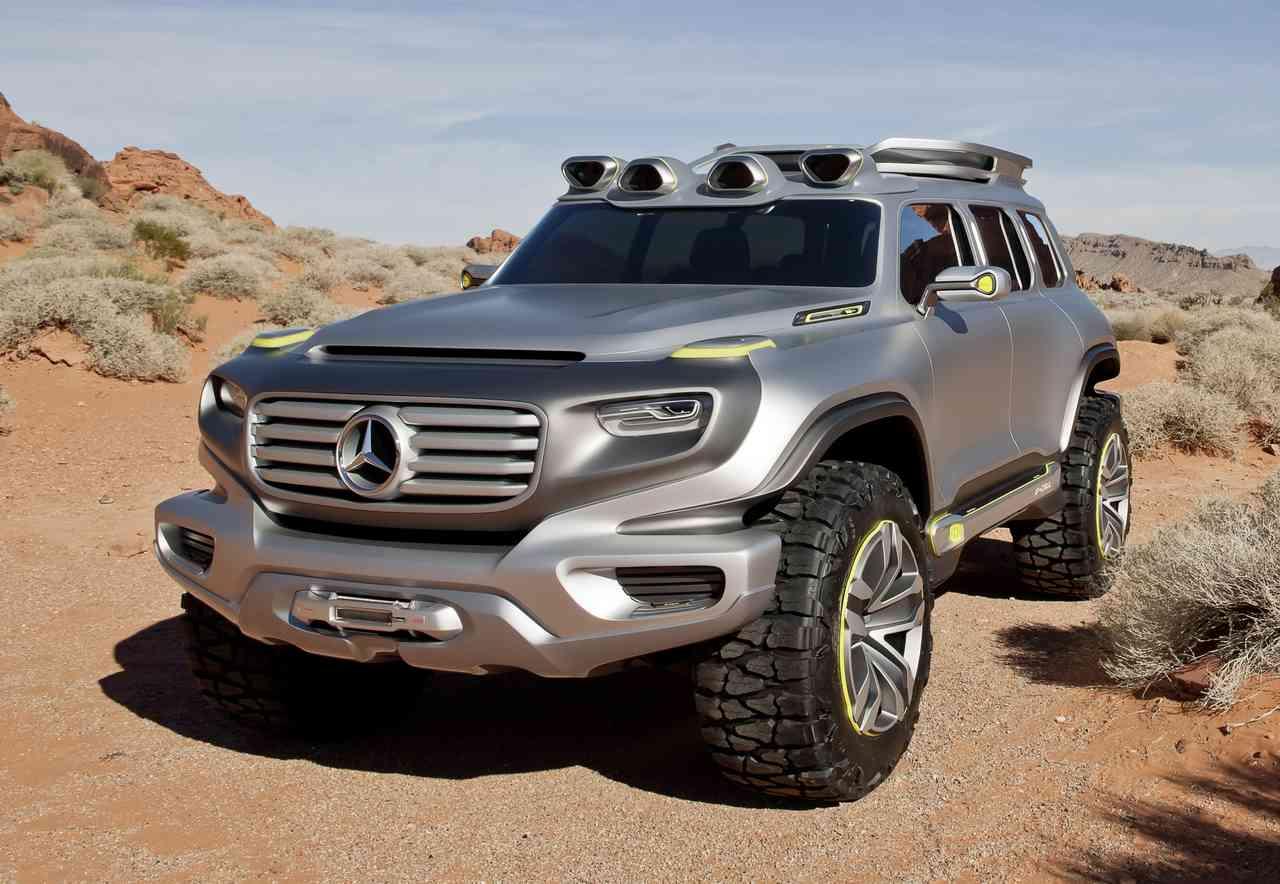 Super! 2020 Mercedes-Benz GLG concept - AutoSledge | Eccentric Motor ...