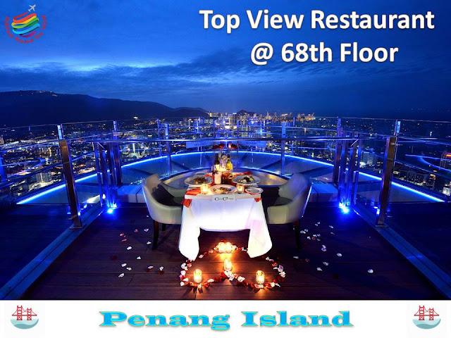 Activities can be done at The Top Komtar, Penang Island