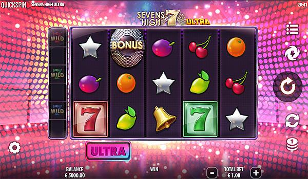 Main Gratis Slot Indonesia - Sevens High Ultra Quickspin