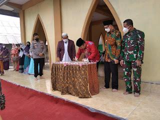 Bupati Jember Resmi kan Masjid 'Hikmah Corona'