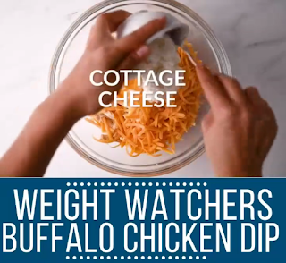 Weight watchers buffalo chicken DIP