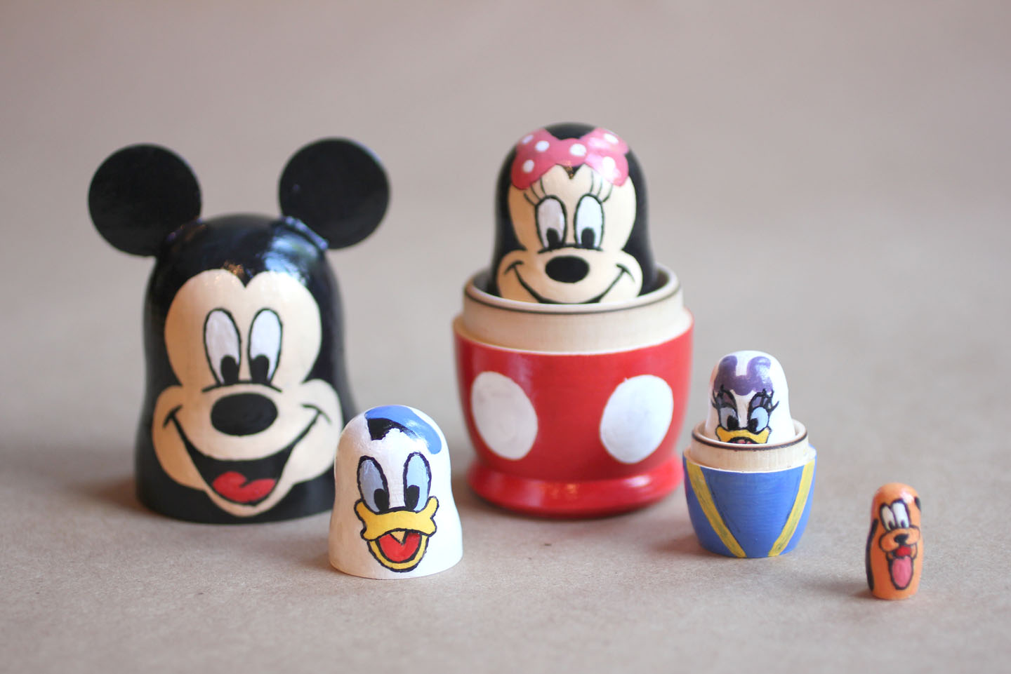 Disney Nesting Dolls - Repeat Crafter Me