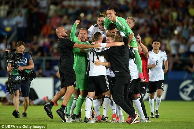 KALAHKAN SPANYOL, JERMAN JAURA EURO U-21 2017