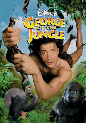 George of the Jungle 1997 Dual Audio Hindi 300mb BRRip 480p x264
