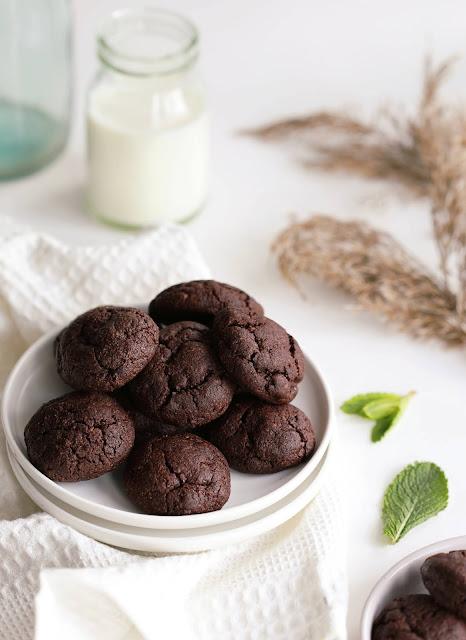 Mandlijahuga šokolaadiküpsised