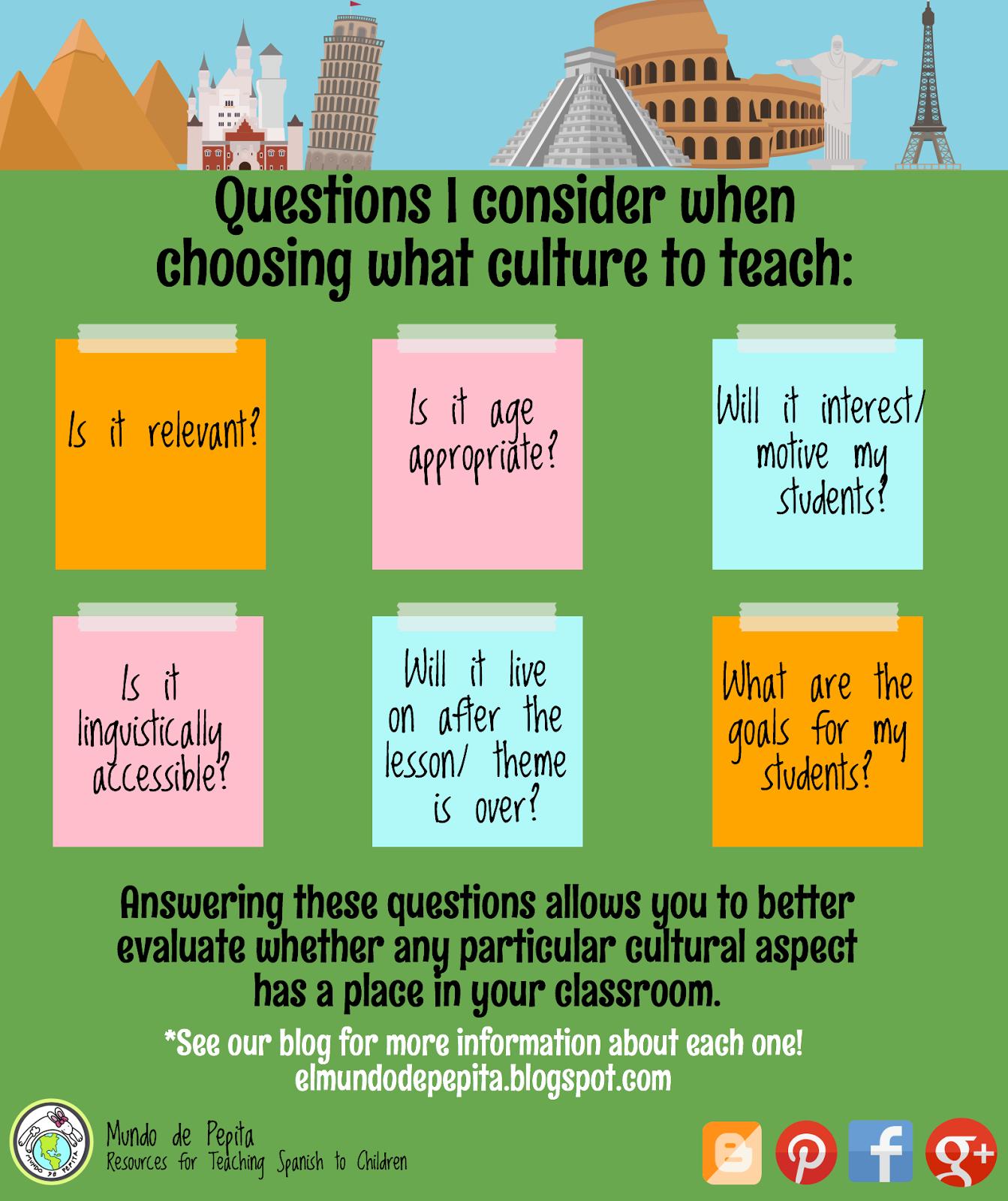Integrating Culture