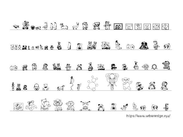 Toys cad blocks download, 75+ Toys cad blocks, Toys dwg model
