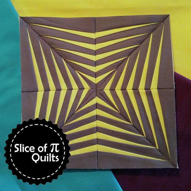 paper pieced kona quilt