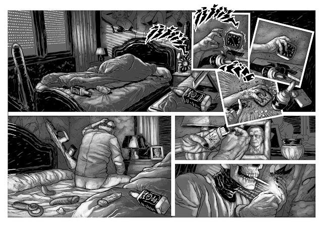 """Z"" Valentin Ramon´s new graphic novel"