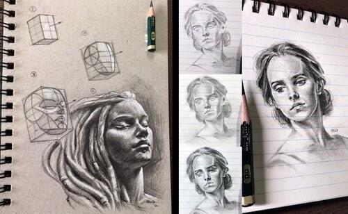00-Portrait-Drawing-SinArty-www-designstack-co