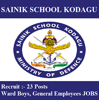 Sainik School Kodagu, Sainik School, Sainik School Kodagu Admit Card, Admit Card, sainik school logo