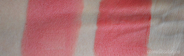 CLIO Mad velvet tint #7 Coral Ray & #9 Pink Ale