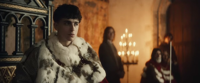 Sinopsis Film The King (2019) - Robert Pattinson, Timothée Chalamet