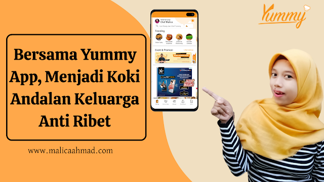 Yummy App, Aplikasi resep masakan terlengkap