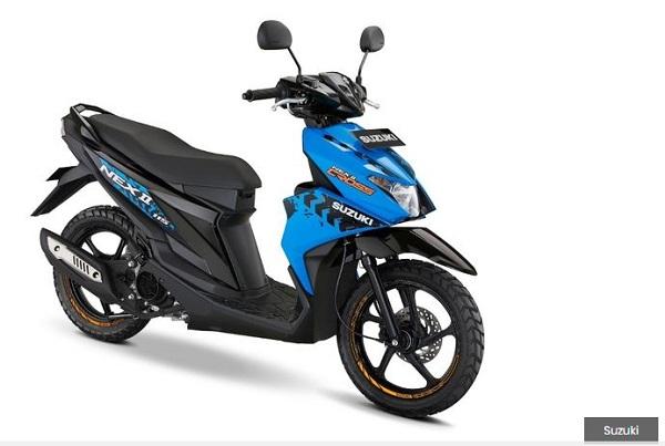 Motor Suzuki Nex II Baru