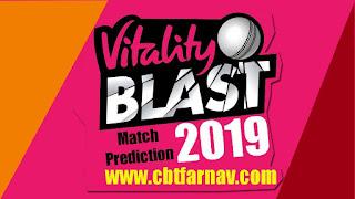 English T20 Blast Warwickshire vs Leicestershire Vitality Blast Match Prediction Today