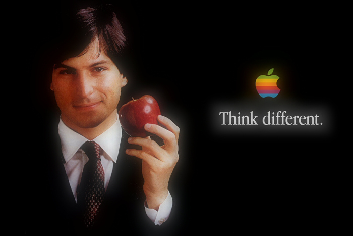 pubblicità apple think different