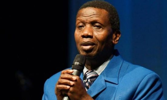 Pastor Adeboye hosts holy ghost communion service following son's death