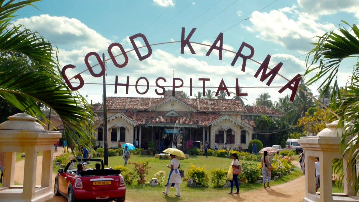 The Good Karma Hospital ITV