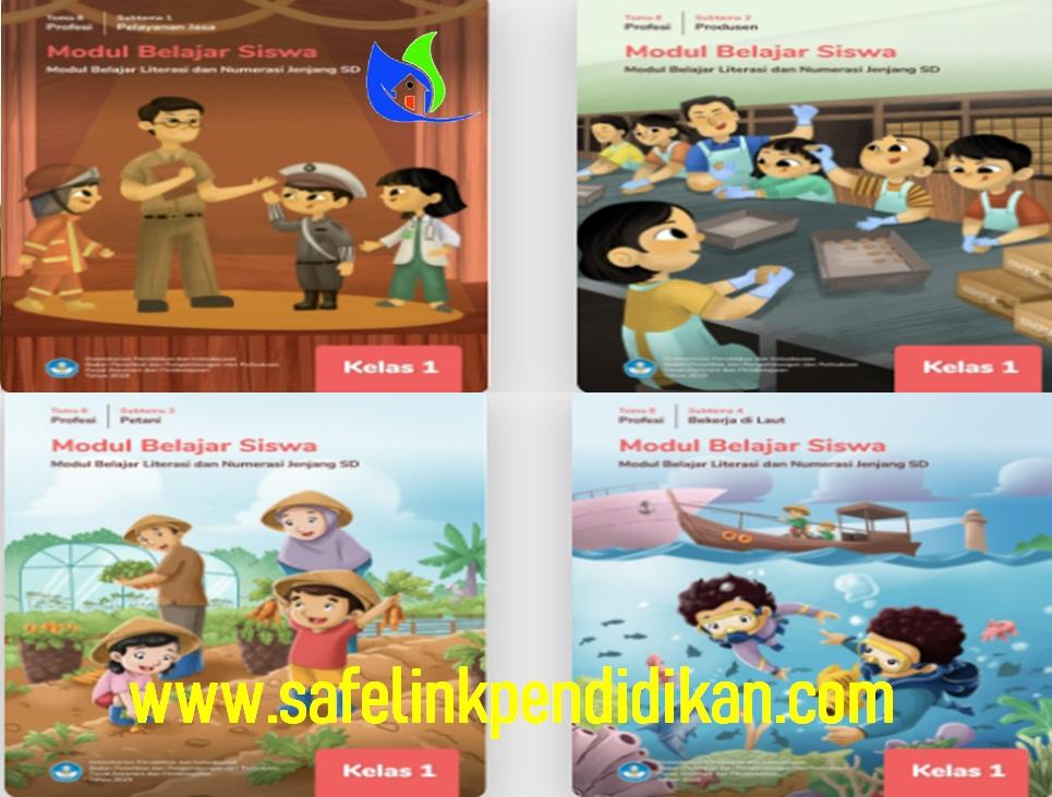 Modul Belajar Literasi Dan Numerasi Tema 8
