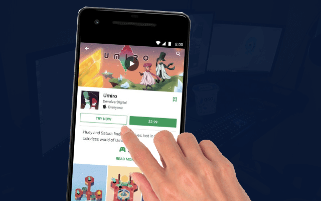 Google Play lets you now experience paid games without downloading