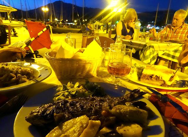 Dinner Vasiliki Restaurant Miramare