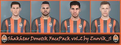 PES 2019 Facepack Shakhtar Donetsk vol 2 by Znovik_S