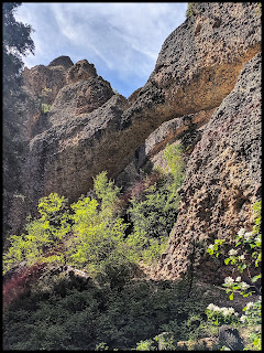 Maple Canyon Arch in Moroni Utah